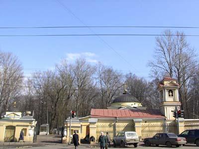 История Большеохтинского <b>кладбища</b>