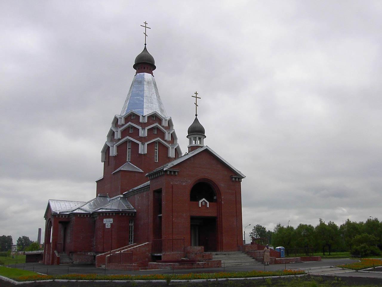 Церковь святого георгия победоносца в спб