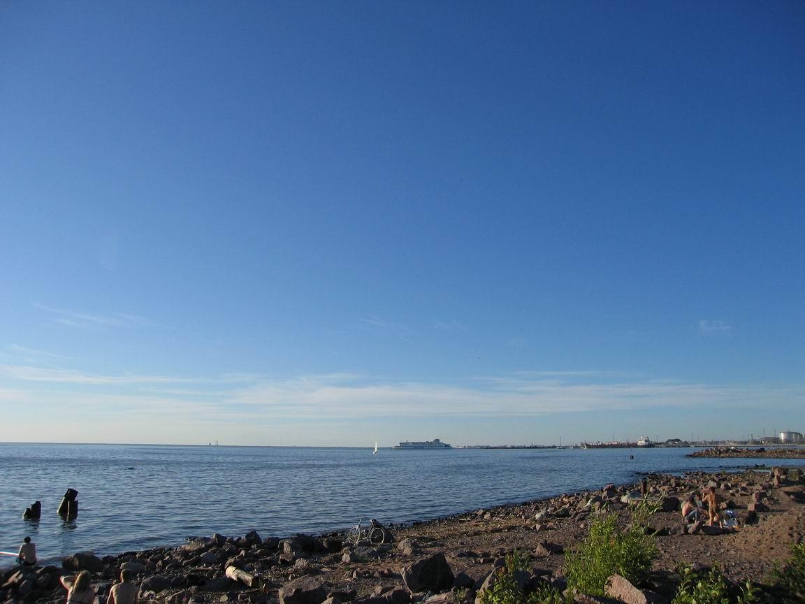 Южное побережье финского залива