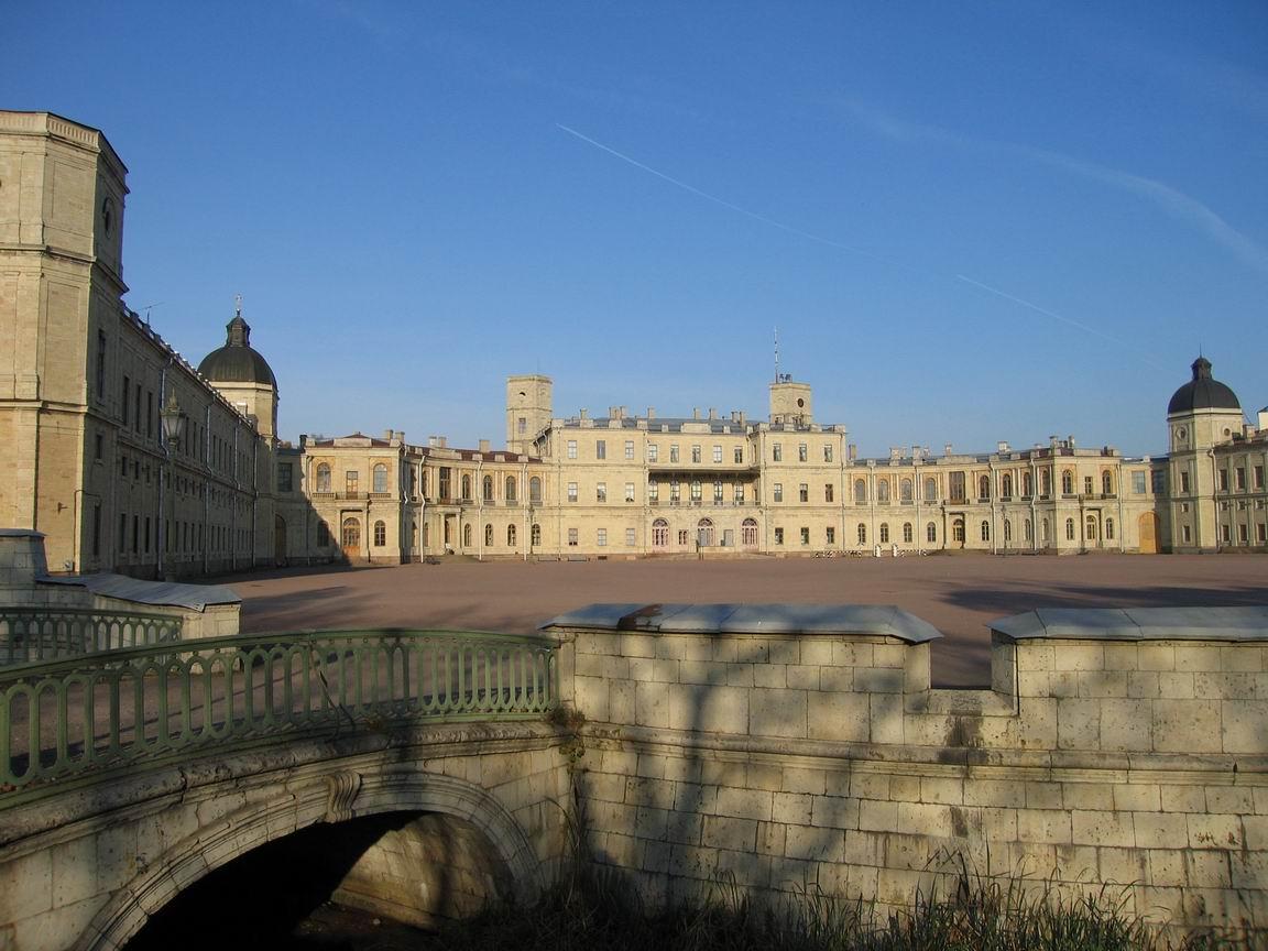 Замок шантийи фото